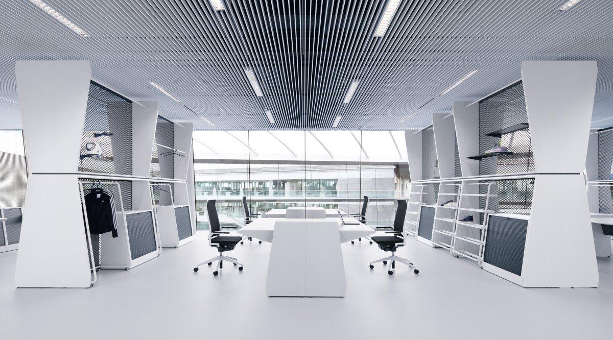 oficina con luz