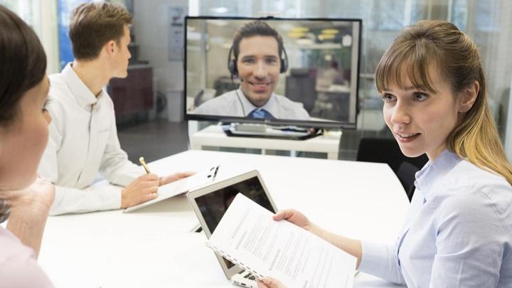 Skype en el trabajo