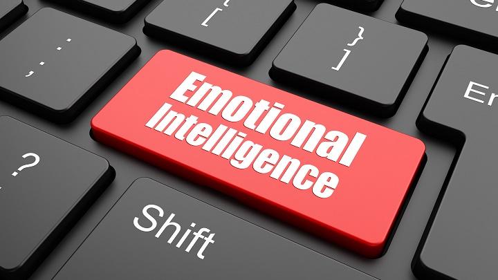 inteligencia emocional en un teclado